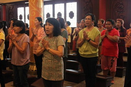 16 Oktober 2016  觀音出家日 Hari Pelepasan Agung Avalokitesvara Bodhisattva.