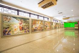 Dinding Sejarah Buddha