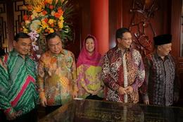印尼廣法寺落成暨佛像安座開光大典